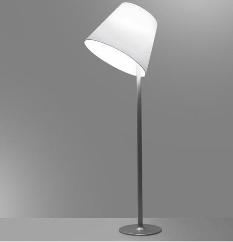 Lampa podłogowa Artemide MELAMPO Mega szary aluminium