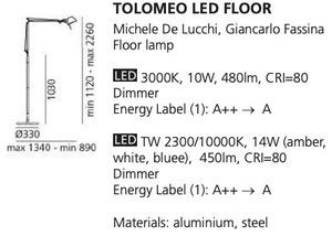 Lampa podłogowa Artemide LED FLOOR  small 1