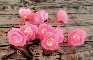 Nastrojowo-dekoracyjne kwiaty FLOWERS LED small 2