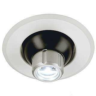 LED Eyeball, 1 power LED, warm white