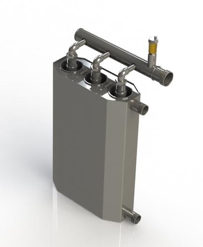 Kocioł indukcyjny potrójny 400V 4.5 kW do ogrzewania dużej powierzchni 90m² – 115m²