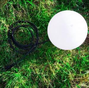 Kula dekoracyjna ogrodowa 20cm Luna Ball wraz z zestawem montażowym small 0