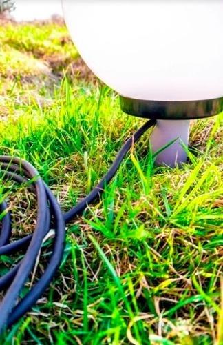 Kula ogrodowa 25cm wraz z zestawem montażowym 1