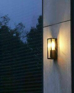 Porto kinkiet na elewację zewnętrzną + żarówka filament LED small 1