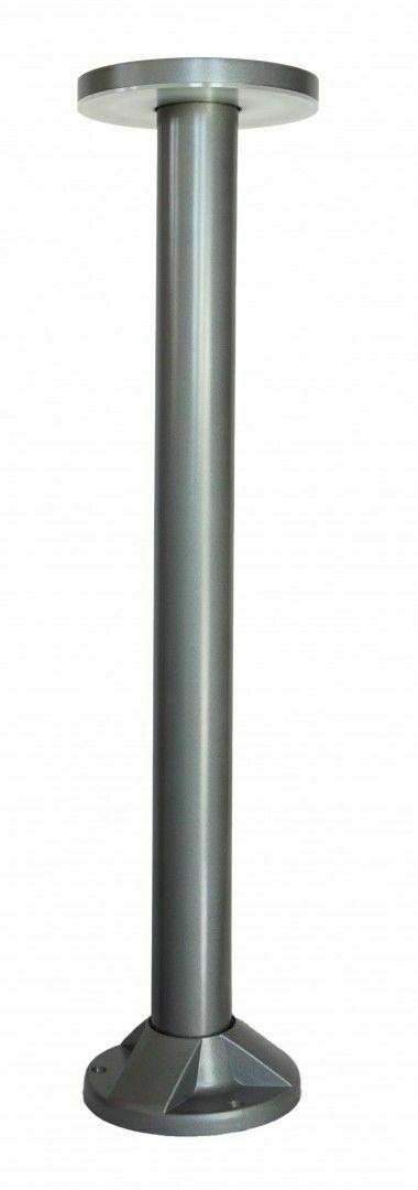 Rondo słupek ogrodowy LED 71cm, popiel