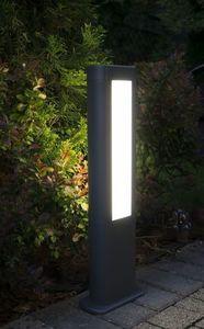 Lampa stojąca zewnętrzna EVO LED 80cm,ciemny popiel
