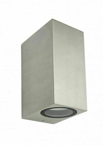Kinkiet zewnętrzny MINI 5002 BR, szczotkowane aluminium