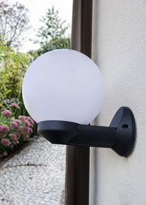 Kinkiet ogrodowy Luna Ball 15 cm E27 biały small 1