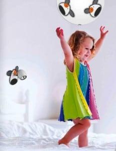 Lampa dla dziecka Piesek - kinkiet Doggy biały/ chrom 50W GU10 small 1