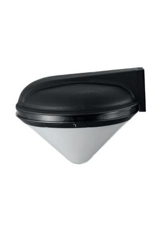 Lampa ogrodowa Luna Clessidra IP65 E27 czarna kinkiet ogrodowy lub lampa ogrodowa stojąca 3