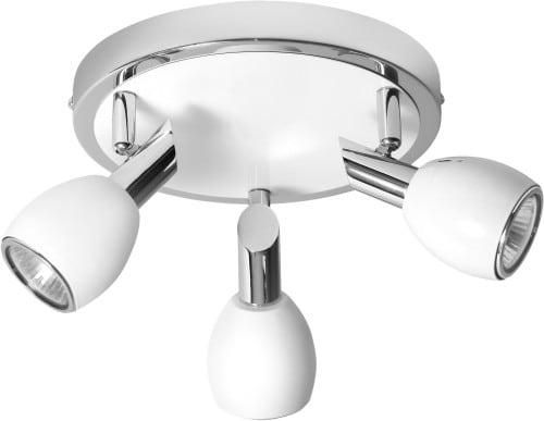 Plafon 3-punktowy LED Colors Biały GU10