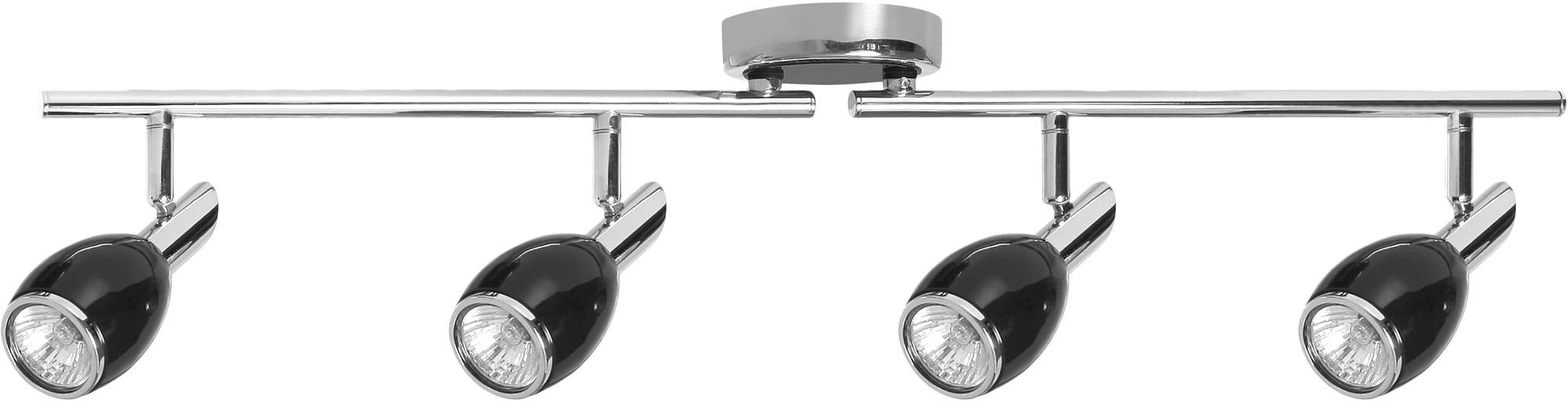 4-punktowe Czarne Reflektorki LED Colors GU10