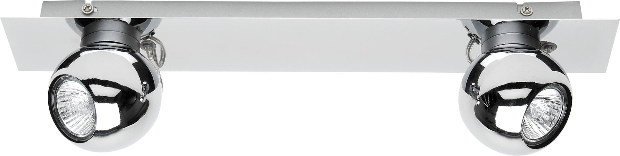 Chromowane 2 Reflektorki Sergio LED GU10 4,5W