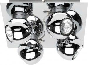Plafon 4-punktowe Reflektorki LED Kule Sergio 4,5W