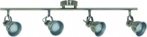 Industrialne 4 Reflektorki Pax patyna GU10 50W