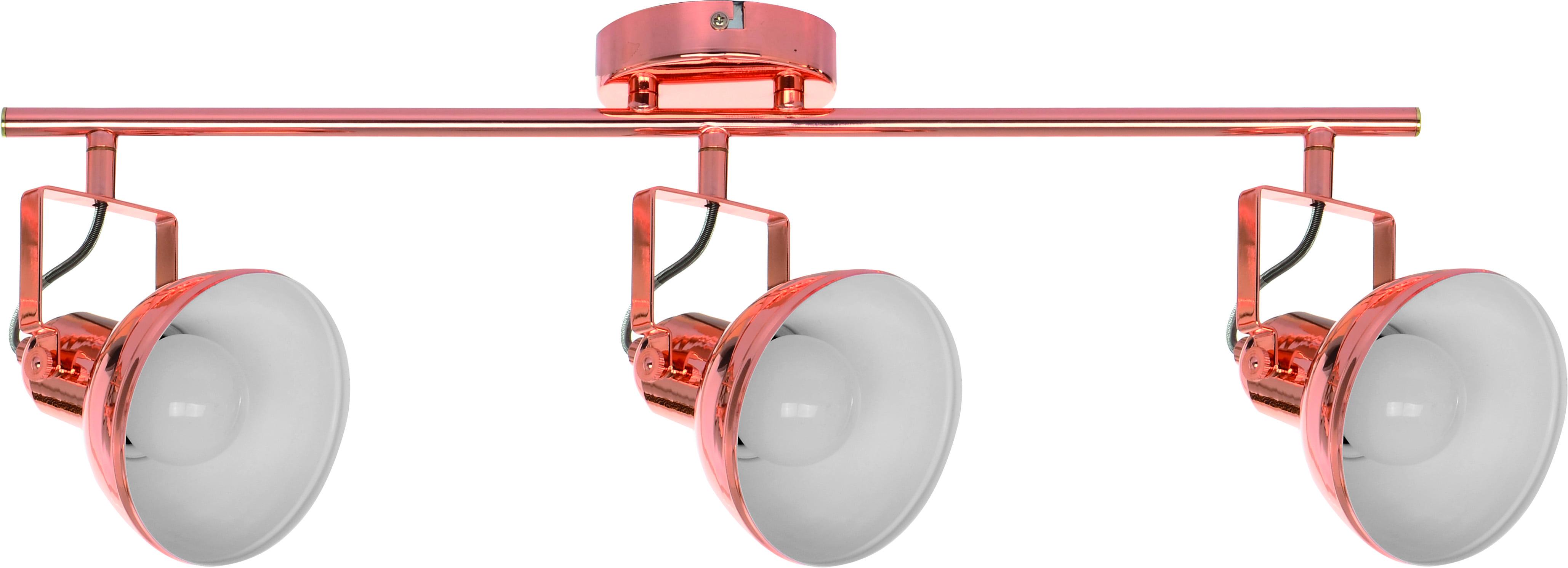 Reflektorki w kolorze miedzi 3-punktowe Edit E27 60W