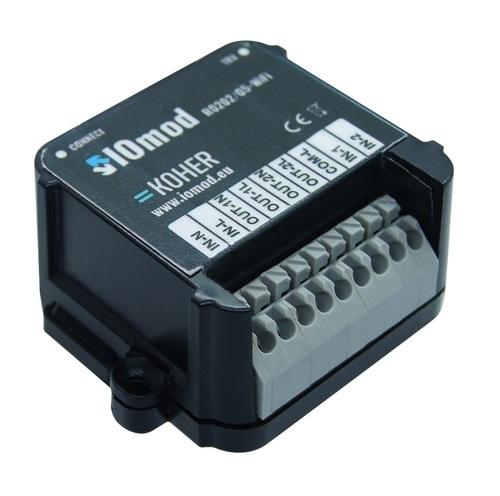 IOmod dwu-przekaźnikowy moduł pozwalający na zdalne sterowanie obwodami elektrycznymi