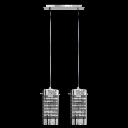 Lampa wisząca Eris 2 kwadrat listwa