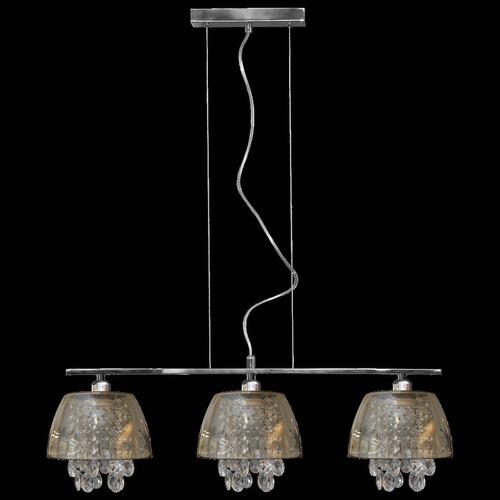 Grafitowa lampa wisząca Ronin Crystal 3