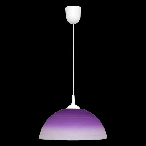 Fioletowa lampa wisząca Sfera