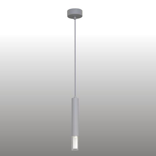 Szara lampa wisząca Kuga 1 M