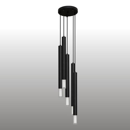 Czarna lampa wisząca Kuga 5 XL