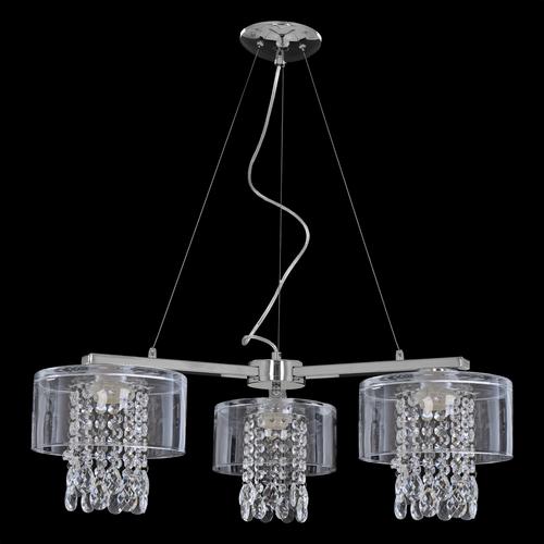 Lampa wisząca Marco Transparent Crystal 3