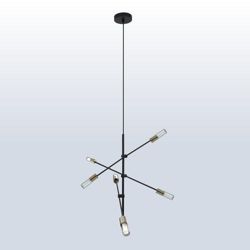 Lampa wisząca Rotor 6 patyna