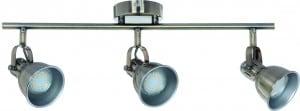 Potrójne Reflektorki-Listwa spot Pax patyna GU10 LED 4,5 W