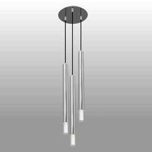 Lampa wisząca Kuga 3 XL chrom small 0