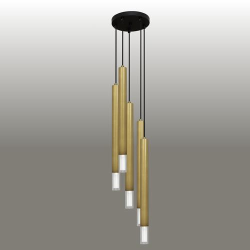 Lampa wisząca Kuga 5 XL patyna