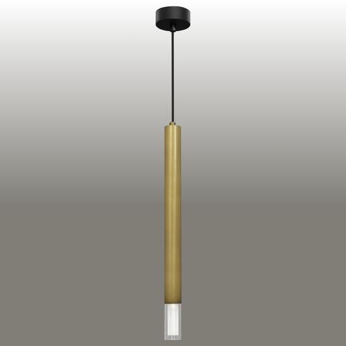 Lampa wisząca Kuga 1 XL patyna