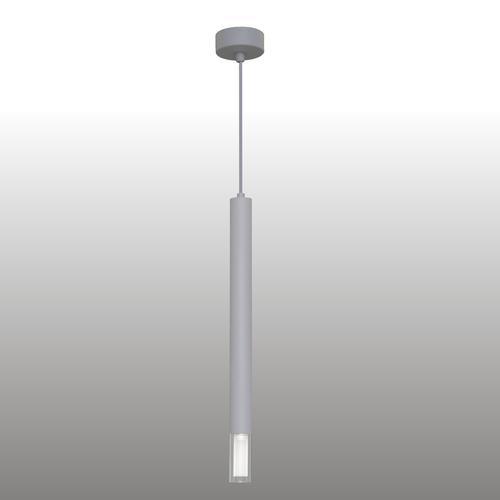 Szara lampa wisząca Kuga 1 XL