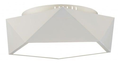 Loftowy Plafon Arca biały LED 24W
