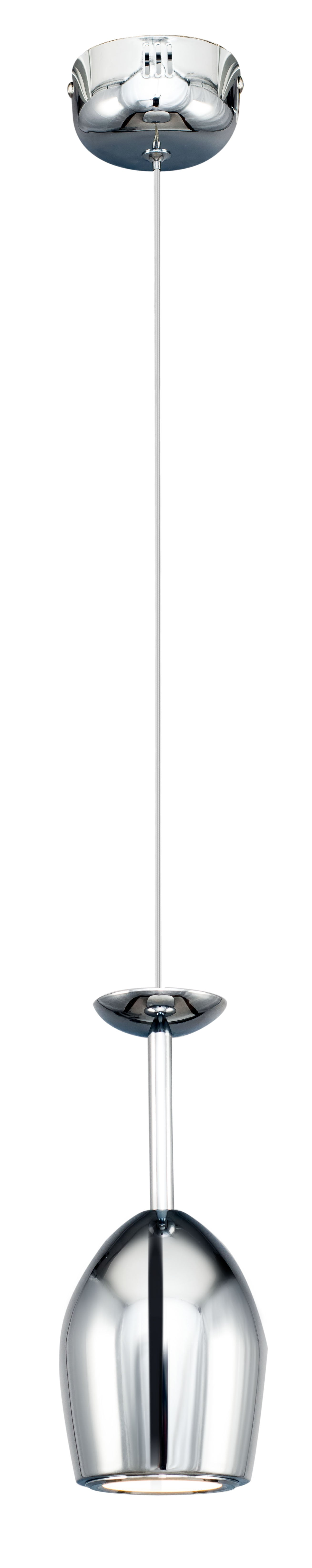 Nowoczesna Lampa LED wisząca Merlot chrom LED 5W