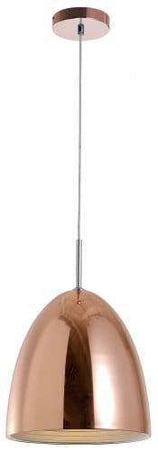 Loftowa miedziana Lampa wisząca Mads E27 60W