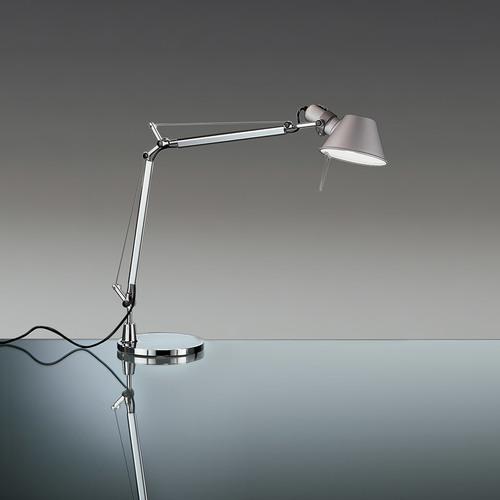 Lampa biurkowa Artemide Tolomeo Mini A005910 Aluminium