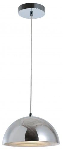 Chromowana Lampa wisząca Mads E27 60W