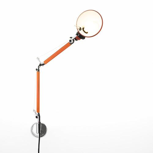 Lampa ścienna Artemide Tolomeo Micro Wall A010960+A025150