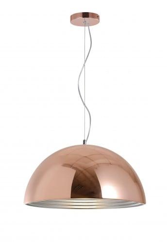 industrialna Lampa wisząca Mads miedziana E27 60W