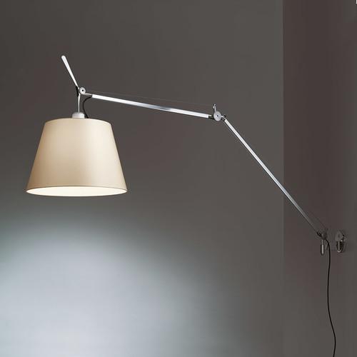 Lampa ścienna Artemide Tolomeo Mega Led Wall 0762010A+0563050A+0780030A