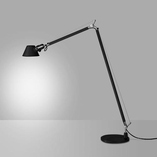 Lampa podłogowa Artemide Tolomeo Reading Floor A013930 czarna