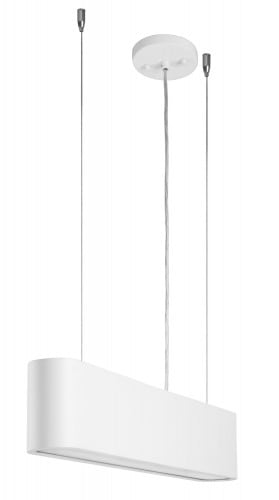 Biała industrialna Lampa wisząca Illumina LED 28W