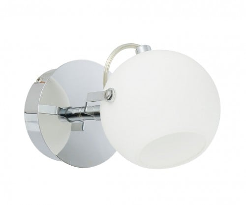 Kinkiet Ida chrom/ biały LED 3W