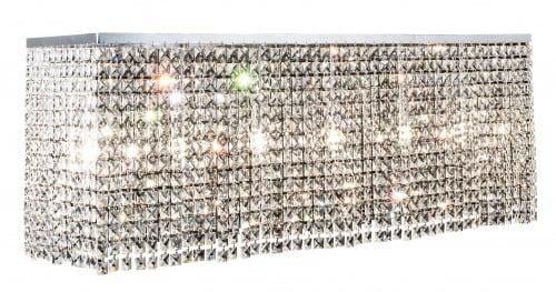 Ekskluzywny Plafon Euphoria chrom E14 40W