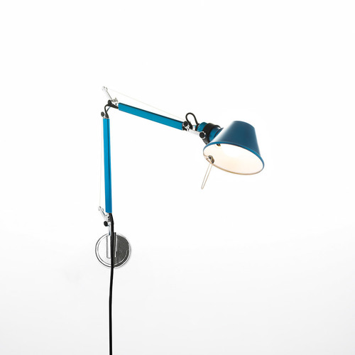 Lampa ścienna Artemide Tolomeo Micro Wall A010950+A025150