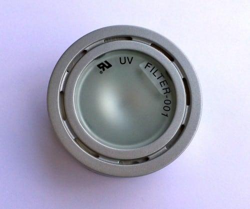 Oprawa meblowa natynkowa SLV 65 mm UV Filter