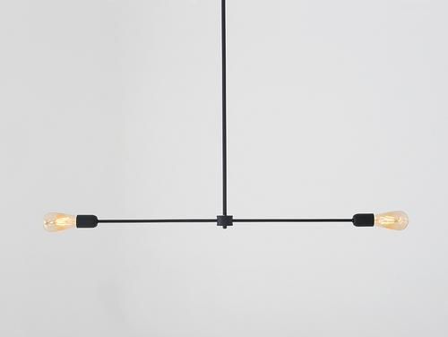 Lampa wisząca TRISO 2 - czarny