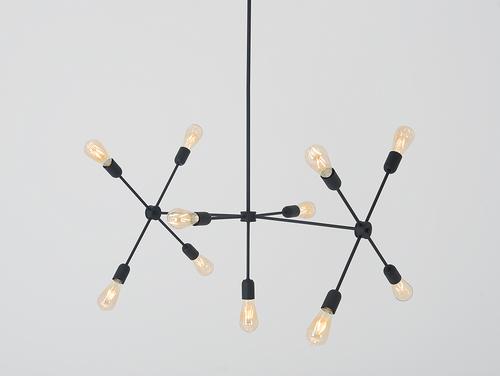 Lampa wisząca TRISO 11 - czarny