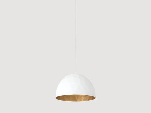 Lampa wisząca LEONARD M - złoto-biały